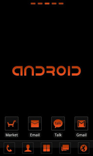 Android Orange For Android Theme Mobile Theme