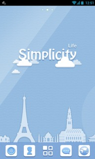 Simplicity Life For Android Theme Mobile Theme