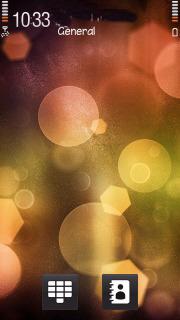 Abstract Colors Circle S60v5 Theme Mobile Theme