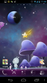 Planet Alien For Android Theme Mobile Theme