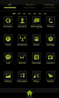 C Black Icons For Android Theme Mobile Theme