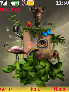 Music Forest Animal S40 Theme Mobile Theme