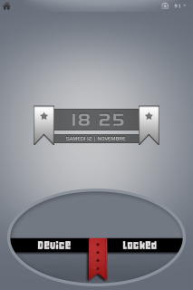 Device Locked For IPhone Theme Mobile Theme