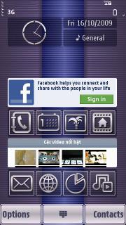 Colors Art Proline S60v5 Theme Mobile Theme