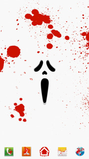 Bloody Scream For Android Theme Mobile Theme