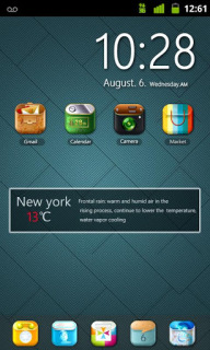Cool Wall Clock For Android Theme Mobile Theme