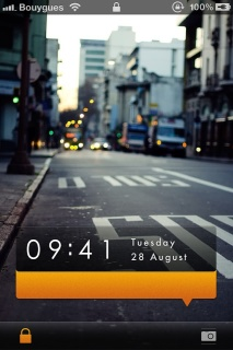 City Morning Clock IPhone Theme Mobile Theme