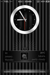 Ls Strip Black IPhone Theme Mobile Theme
