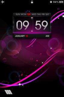 Purple Circle Bokeh IPhone Theme Mobile Theme