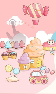 Yummy Candy Icecream For Android Theme Mobile Theme