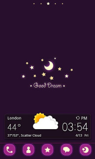 Good Dream Clock For Android Theme Mobile Theme