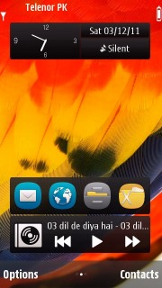 Parrot Color Wings S60v5 Theme Mobile Theme