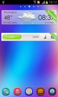 Laser Rainbow Lights For Android Theme Mobile Theme