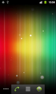 Abstract Rainbow Spectrum Android Theme Mobile Theme