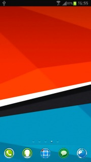 HTC Colors Sensation Android Theme Mobile Theme