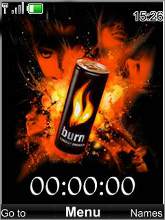 Swf Energy Burn Drink S40 Theme Mobile Theme