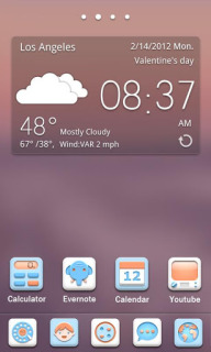 Weather Soft For Android Theme Mobile Theme