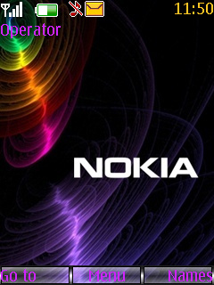 3D Nokia Colors S40 Theme Mobile Theme