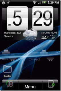 Htc Style Blue Lines For Android Theme Mobile Theme