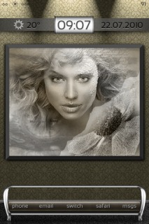 DBar Beautiful Woman Gallery IPhone Theme Mobile Theme
