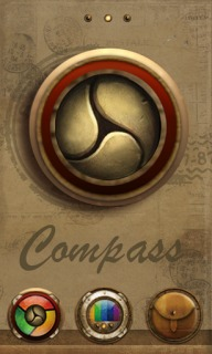 Compass Golden View Android Theme Mobile Theme