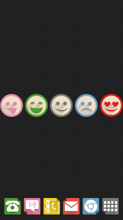Cute Funny Style Smiley For Android Theme Mobile Theme