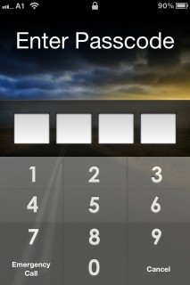 Enter Password Apple IPhone Theme Mobile Theme