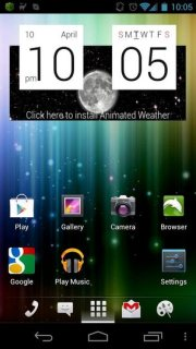 Htc Syle Colors Clock Android Theme Mobile Theme