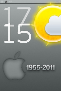 Sun & Time For IPhone Theme Mobile Theme