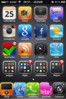 Dulce HD Icons IPhone Theme Mobile Theme