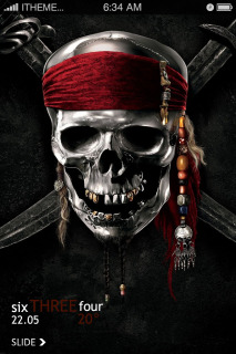 Download Dangerious Skull Ghost IPhone Theme Apple Theme | Mobile Toones