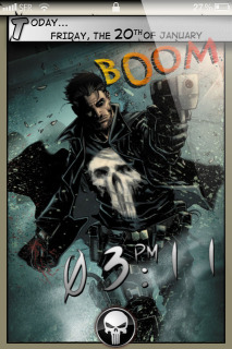 Boom Ghost Clock IPhone Theme Mobile Theme