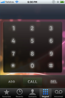 Abstract Neon Dialer IPhone Theme Mobile Theme