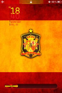 Spain Flag Cute IPhone Theme Mobile Theme