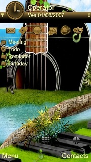 Music Nature Land S60v5 Theme Mobile Theme