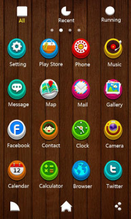 Lovely Icons Wood For Android Theme Mobile Theme