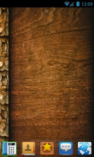 Abstract Wood Pattern For Android Theme Mobile Theme