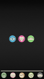 Curte Droid Love Sweets Android Theme Mobile Theme