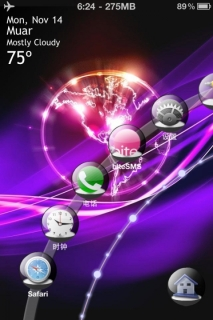 Abstract Ergo HD Colors IPhone Theme Mobile Theme
