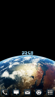 Mars Space Time For Android Theme Mobile Theme