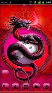 Dragon Yinyang For Android Theme Mobile Theme