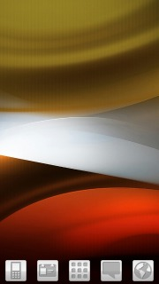 Abstract Orange Valley Android Theme Mobile Theme