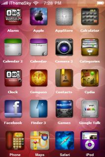 Bokeh Background IPhone Theme Mobile Theme
