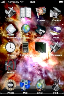 Explode Colors Abstract IPhone Theme Mobile Theme