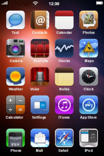 Colors Background ICons IPhone Theme Mobile Theme