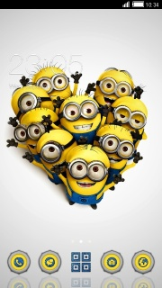 Despicable For Android Theme Mobile Theme