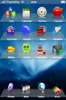 Toys On Shelve IPhone Theme Mobile Theme