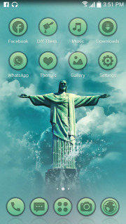 Christ The Redeemer Android Theme Mobile Theme