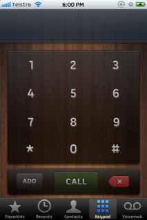 Wooden Duo Numbers IPhone Theme Mobile Theme