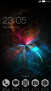 3D Glasses Colors Android Free Theme Mobile Theme